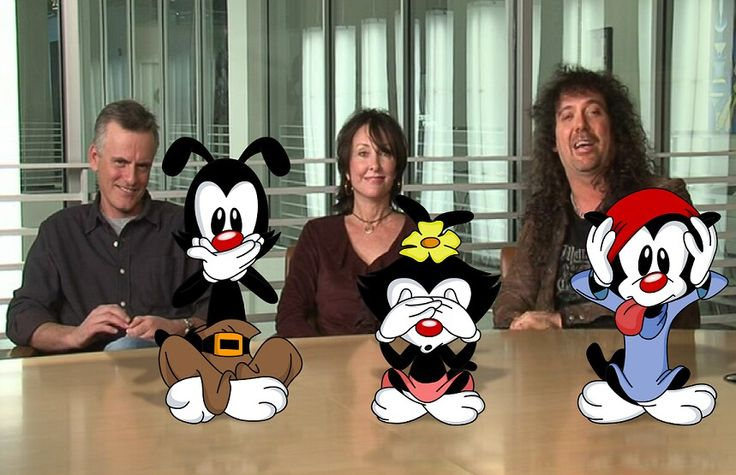Animaniacs cast